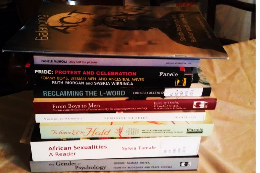 Some SA books with LGBTI content