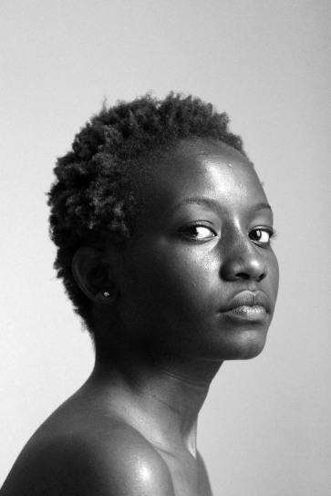 Jackie Karuti's portrait by Zanele Muholi.  Johannesburg (2012)