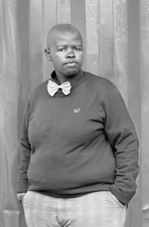 Lungile Cleo Dladla, KwaThema Community Hall, Springs, Johannesburg, (2011). Photo by Zanele Muholi for Faces & Phases