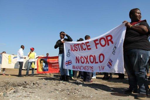 photos taken during Noxolo's commemoration in Tsakane, Ekurhuleni. Johannesburg. (c) Inkanyiso media