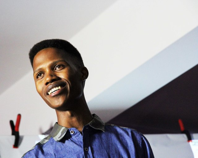 Tshepo K. from Kuruman at Iranti event. Photo by Collen Mfazwe