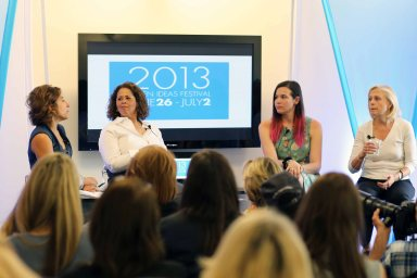 Anna Deavere Smith at the Women on TV session