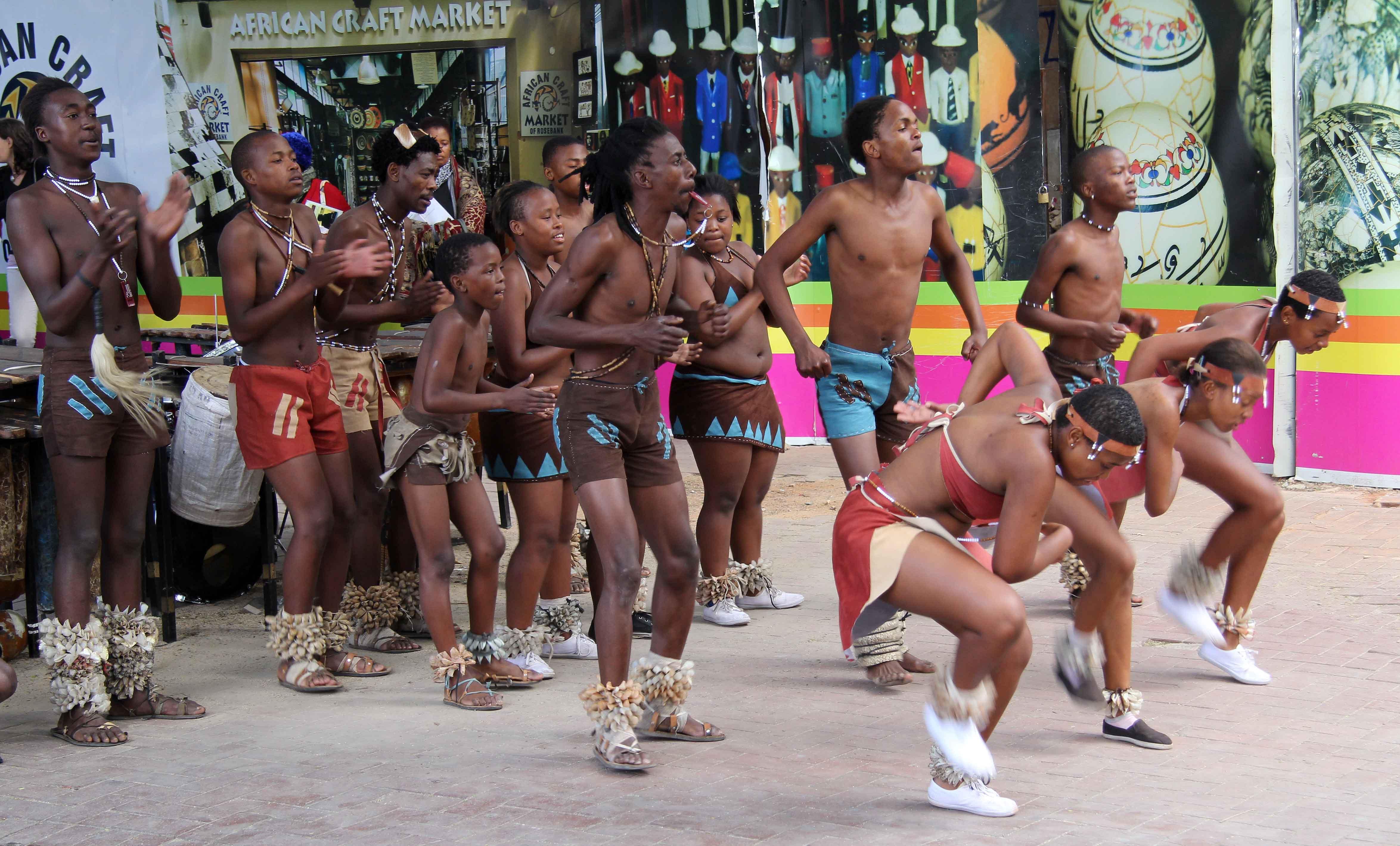 in Zulu panty girls