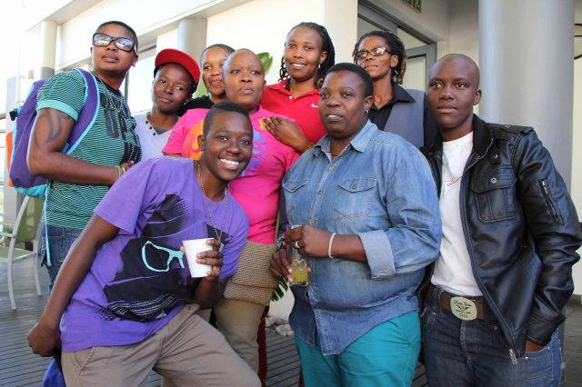 Ekurhuleni LGBT group who ensured that their presence is heartfelt
