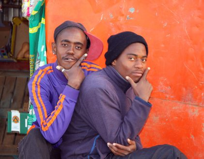 2013 June 6:  Some Portraits of Young Black Men in Daveyton