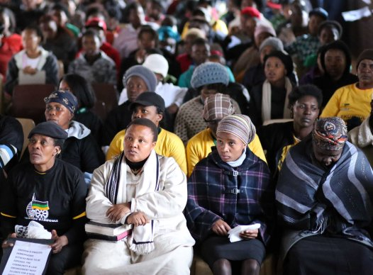 2013 July 10:  Chaotic memorial service for Duduzile