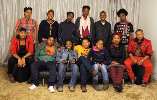 Inkanyiso crew members and friends. Almost all the individuals in this picture have contributed their time and work to the collective.