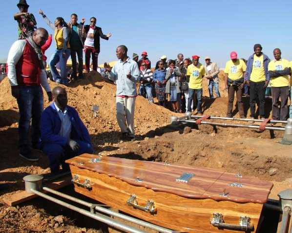 2013 July 13:   Picturing Duduzile Zozo's funeral