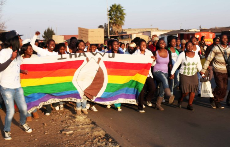 2013 July 5:   Photos taken after Duduzile Zozo memorial