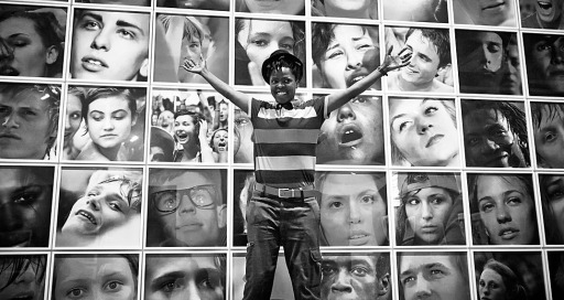 A visit to the FotoMuseum (FoMu), Antwerp.  Photo by Alain Six on the 6th Aug. 2013