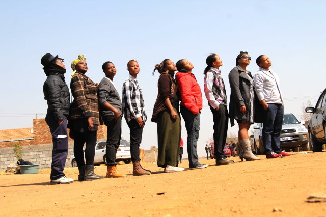 Inkanyiso crew supported the member and Majola family at the time of sadness