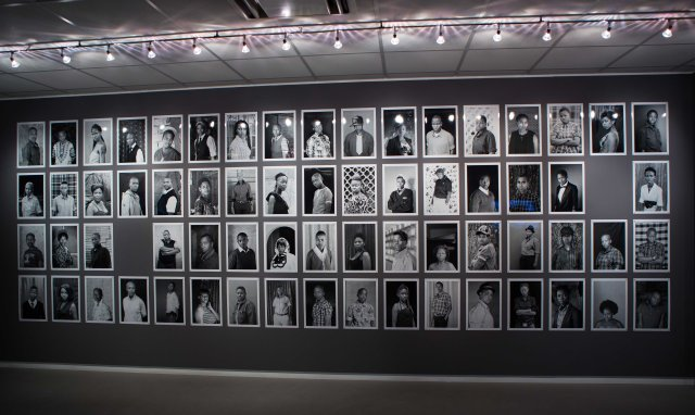 Some Faces & Phases portraits exhibited
