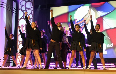 Great performance by Black & White Sarafina. Photo by Zanele Muholi