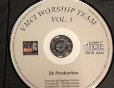 The new cd of VMCI worship team released recently. Photo by Londeka Dlamini