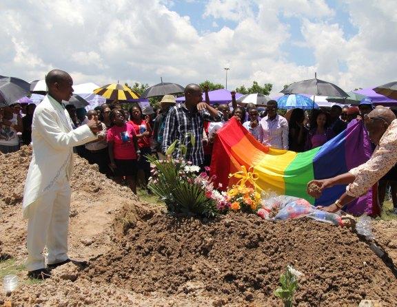 Maleshwane's burial site at Ekuthuleni Graveyard in Ratanda