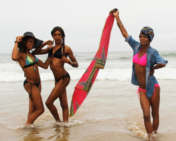 L-R:  Melissa Mbambo, Candice Nkosi & Yaya Mavundla