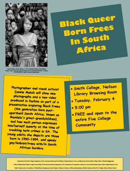2014 Feb.4:  Black Queer Born Frees in South Africa
