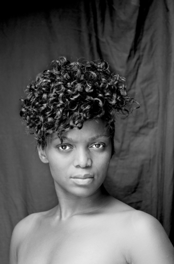 Featuring in Zanele Muholi's Faces & Phases. Ayanda Magoloza, Kwanele South, Katlehong, Johannesburg, 2012