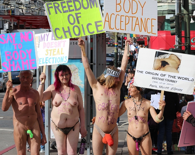 2014 March 8:   Freedom of Nude Expression
