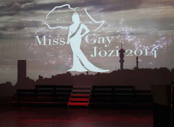Miss Gay Jozi 2014 logo