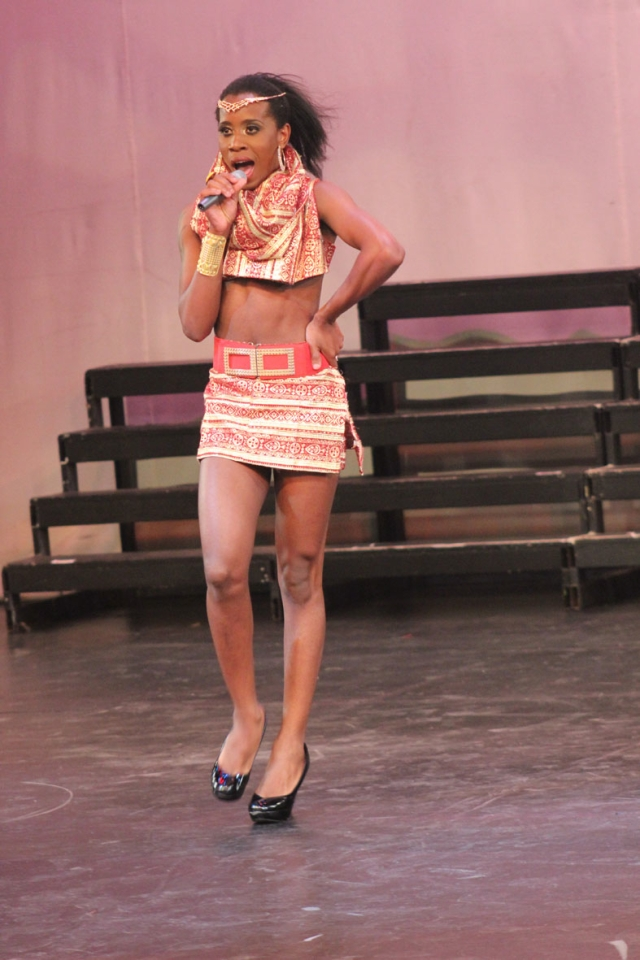 Labelz D'Glamour during her Mafikizolo's Khona performance 2