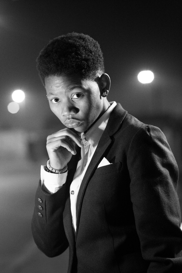 Lebo 'Leptie' PHUME, Daveyton, Johannesburg, 2013 featuring in Zanele Muholi's                                    Faces and Phases series.