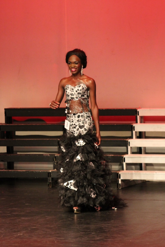 Somizi rocking her ball gown 2
