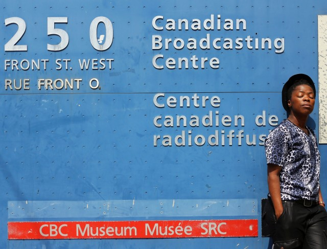 2014 June 16 after the interview at CBC radio_1296