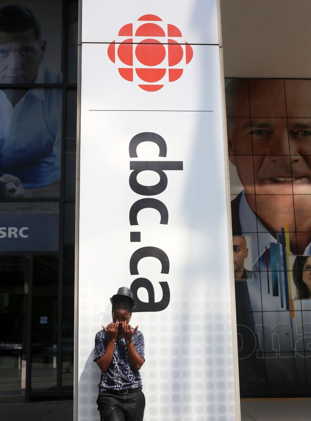 2014 June 16 after the interview @ cbc radio_1303