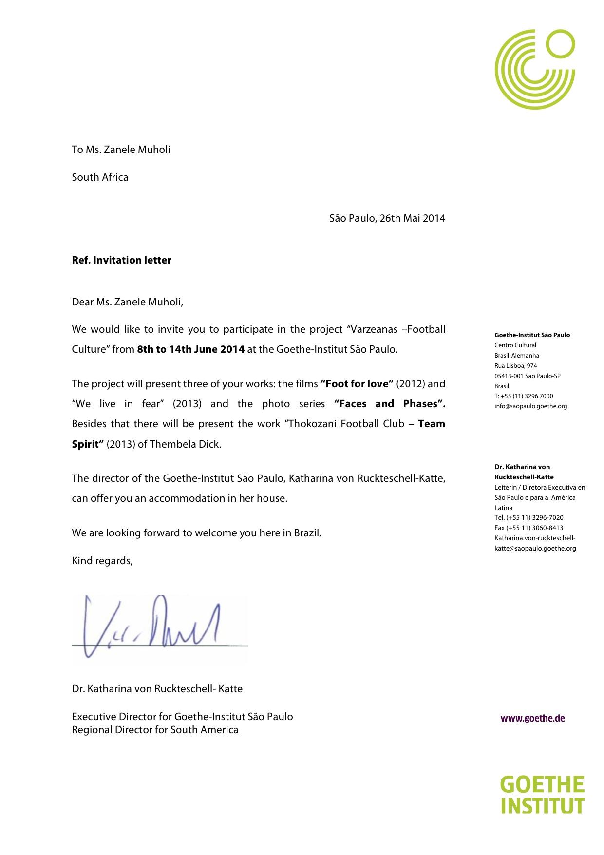 Cover letter invitation event – Business Event Invitation Letter