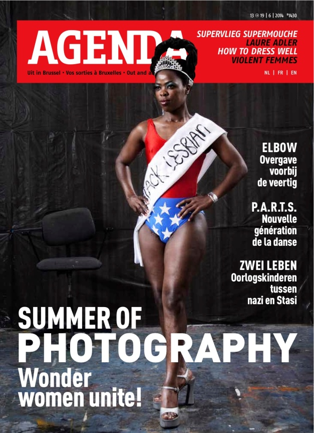 Muholi on Agenda cover