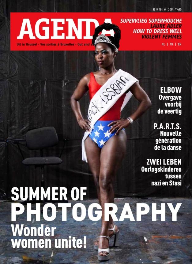 Muholi on Agenda cover