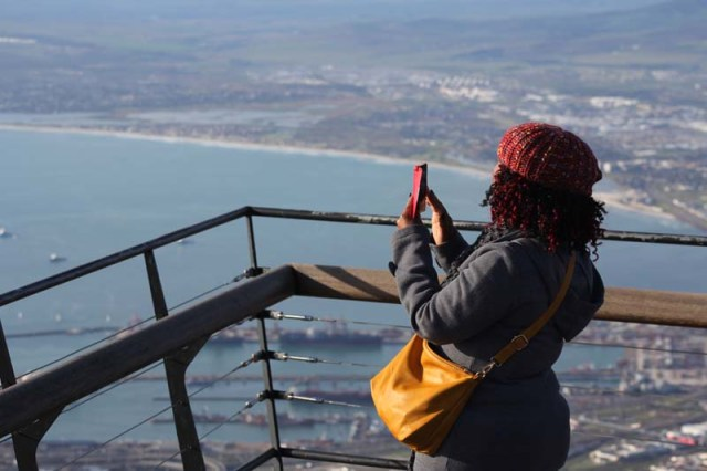 capturing the view