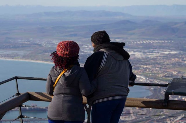 viewing of cape town