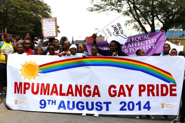 Activists and LGBTI members came out in numbers to participate in the first Mpumalanga Pride, Nelspruit