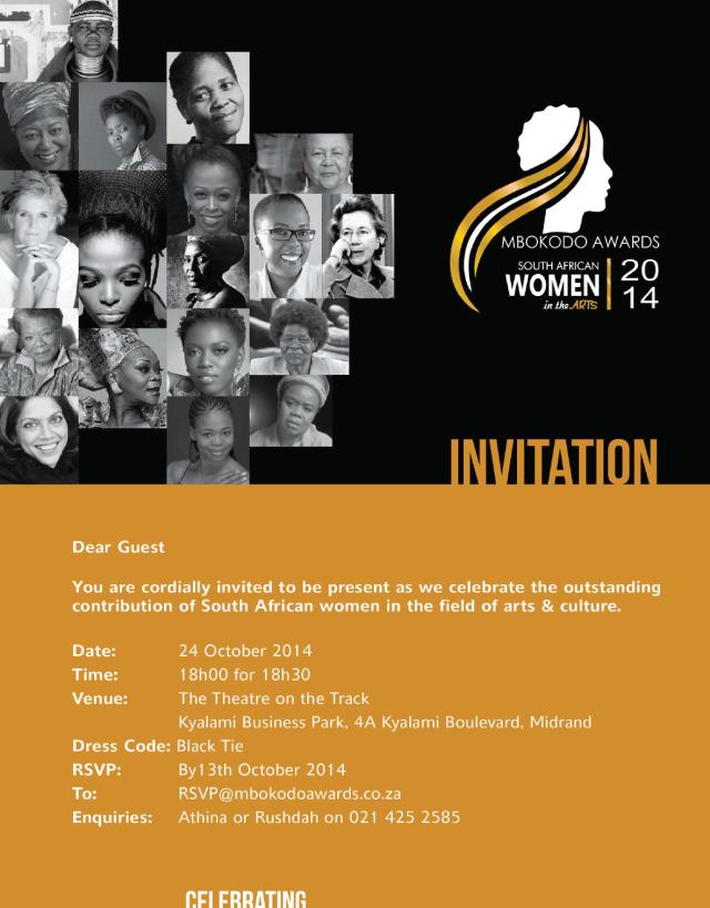 2014 Mbokodo awards