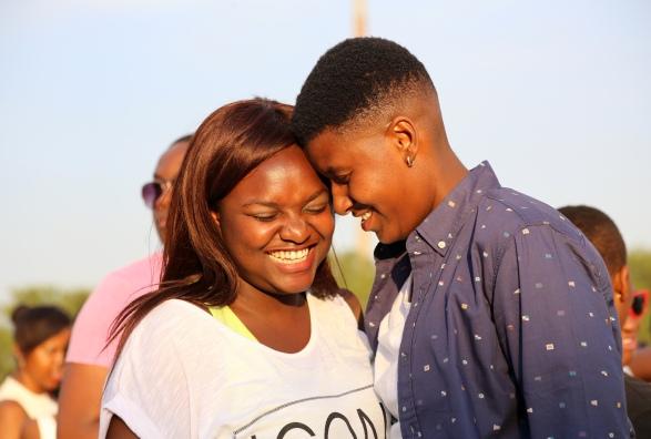 Smanga & Maureen at the 2014 Soweto Pride.