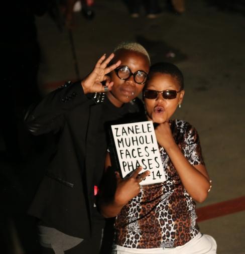 Matshidido Mofokeng and Sweeto Mahlatse who are both featuring in the series...