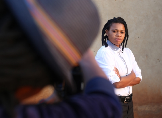 Vania as seen by Zanele Muholi during the second part of Faces and Phases. (c) Photos by Lindeka Qampi and Zanele Muholi (2014)