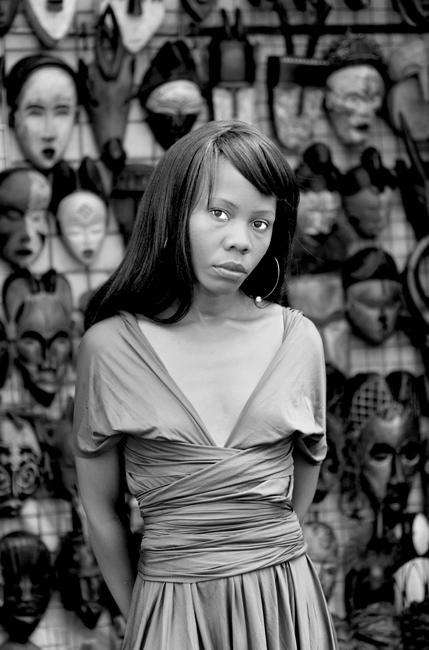 Kekeletso Khena, Green Market Square, Cape Town, 2012
