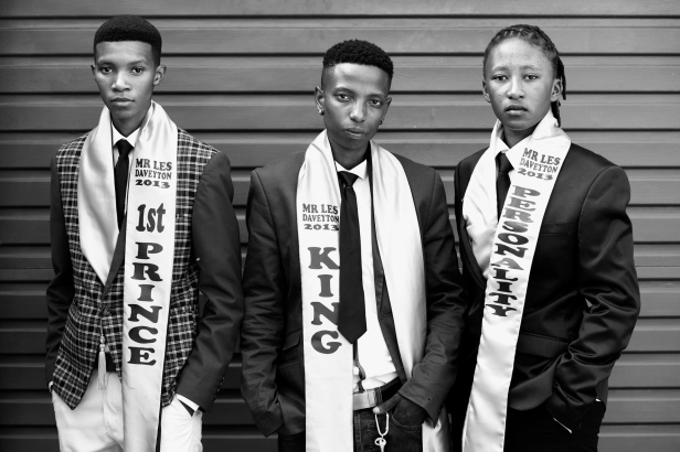 The 2013 Mr Daveyton winners. From Left - Right: Nontuthuzelo Mduba, Lebo Magaela and Nonkululeko Sharon Mthunzi.