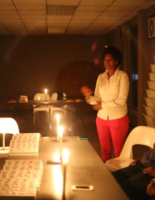 2014 Dec. 12 Nondi Vokwana @f&p launch_6676