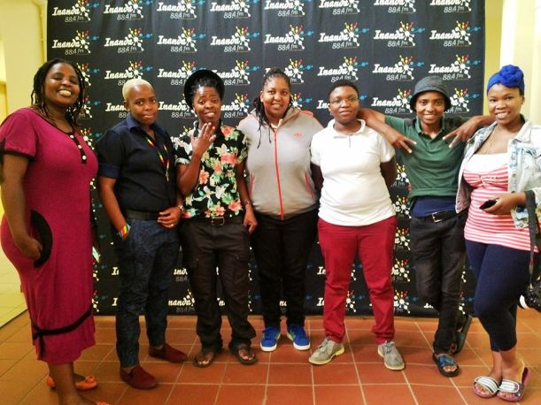 2015 Jan. 9 Inanda FM radio station visit by CC
