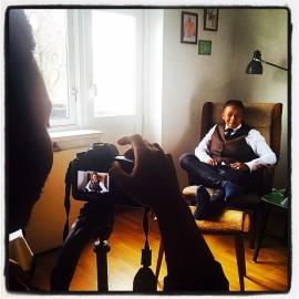 @ Home in Toyen, Oslo with Shaz 'Sicka' Mthunzi