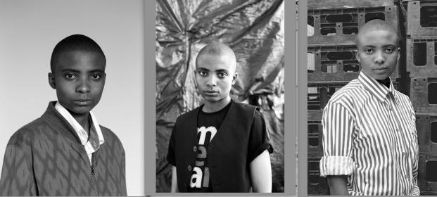 2014 2013 2010 Lerato Dumse portraits by Zanele Muholi.
