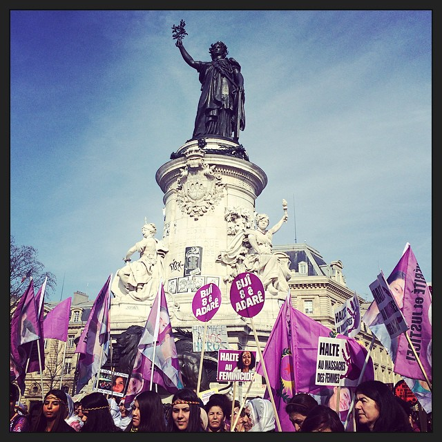 intl womens march _ republique 1