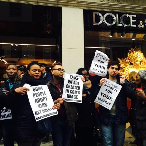 protest D&G photo 4