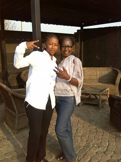Shaz 'Sicka' Mthunzi & her mother...