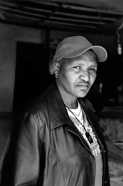 Funeka Soldaat, Makhaza, Khayelitsha, Cape Town, 2010