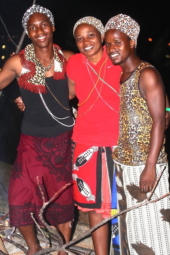 Ziningi and friends in Umlazi township.